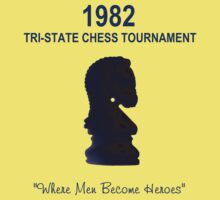 1982 Tri-State Chess Tournament by vapidclothing