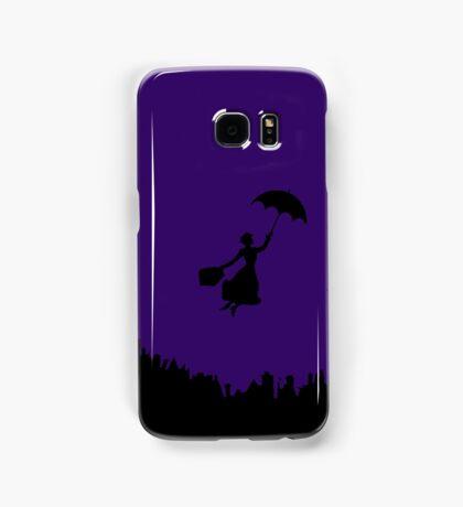 Mary Poppins Silhouette  Samsung Galaxy Case/Skin