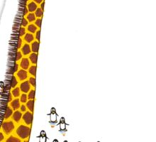 Uni-Giraffes Dancing Sticker