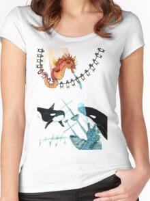 Sunken Ship Women's Fitted Scoop T-Shirt