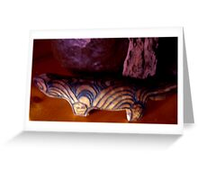 """Goanna . . "" Greeting Card"