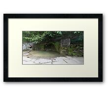 HDR Composite - Charles Chubb Conservationist Memory Pool Framed Print