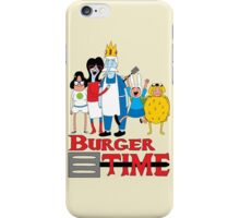 Burger Time iPhone Case/Skin