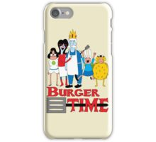 Burger Time iPhone Case/Skin