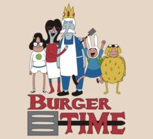 Burger Time by Jeremy Kohrs