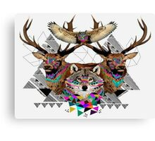 Geometric Tribe Canvas Print