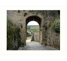 Tuscan 1 Art Print