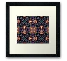 Pulse fire Framed Print