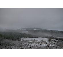 Mist across the Snowy Highlands Photographic Print