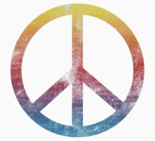 Peace sign rainbow Kids Clothes