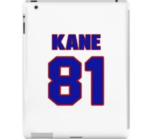 National football player Tommy Kane jersey 81 iPad Case/Skin