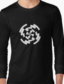 Mandala 10 Simply White Long Sleeve T-Shirt