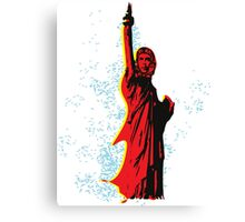 Statue of Che Canvas Print