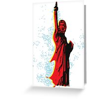 Statue of Che Greeting Card