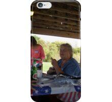 Leewards picnic reunion  iPhone Case/Skin