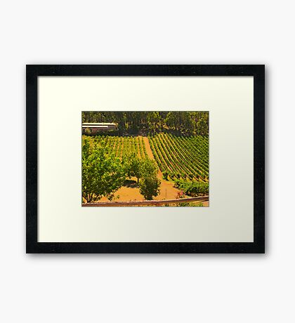 Buried In The Hill Framed Print