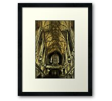 The Organ Framed Print