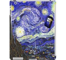 Starry Night Tardis iPad Case/Skin