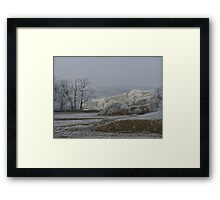 dales morning Framed Print
