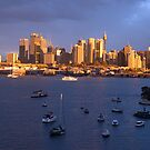 Glow - Sydney Harbour & Skyline, Australia by Philip Johnson