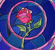Beauty And The Beast Rose Flower by SecondArt