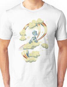 Flying Robot Unisex T-Shirt