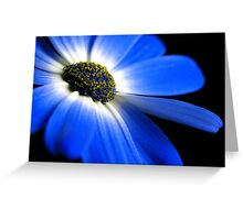 Blue! Greeting Card