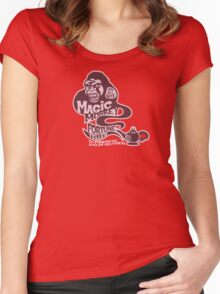 Magic Monkey Fortune Teller Women's Fitted Scoop T-Shirt