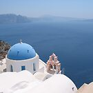 Santorini Greece by Mike Paget