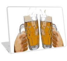 Cheers, with two beers Laptop Skin