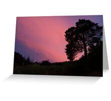 Shropshire Sunset Greeting Card