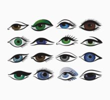 set of eyes by VioDeSign