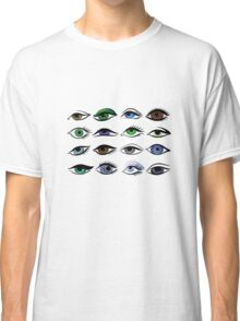 set of eyes Classic T-Shirt