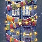 Doctor Who Christmas Tardis  by illustore