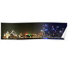 Panorama Of The Opera House Skyline Poster