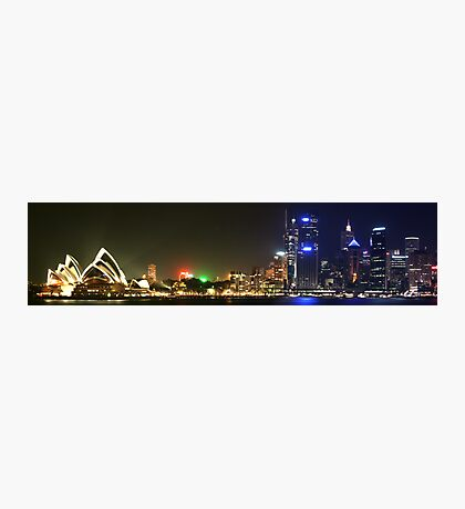 Panorama Of The Opera House Skyline Photographic Print