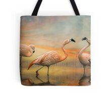 Flamingo Dusk Tote Bag