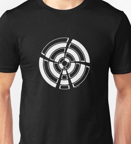 Mandala 25 Simply White Unisex T-Shirt