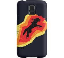 Fire Wolf (Texture) Samsung Galaxy Case/Skin