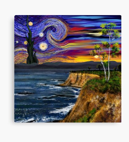 Starry Surreal Canvas Print