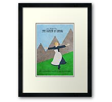 The Sound Of Music Framed Print
