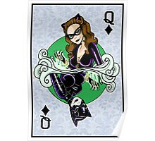 Catwoman - Queen of Diamonds Poster