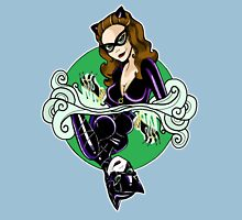 Catwoman - Queen of Diamonds Womens Fitted T-Shirt