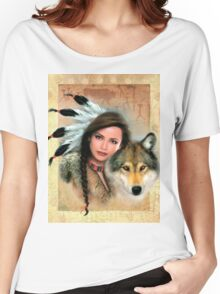 Native Beauty Women's Relaxed Fit T-Shirt