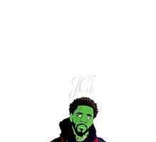J.Cole Zombie Poster by Deannatheartist