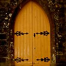 Church Door by Rebs O