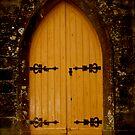 Church Door by Rebs O