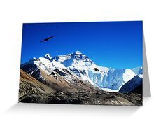 The Mighty Everest Greeting Card