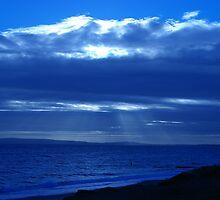 Blue-rayed Sun by Ciaran O'Hagan