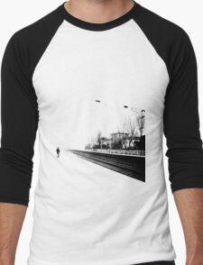 Life is one big road... Men's Baseball ¾ T-Shirt